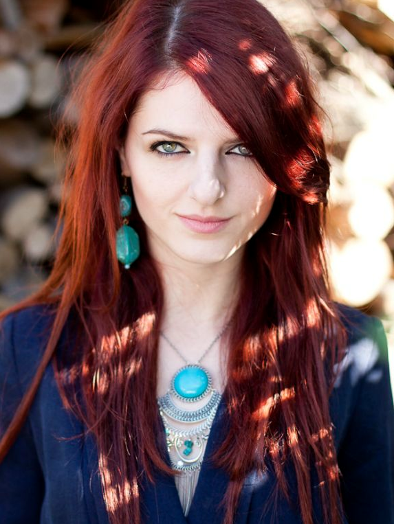 Adriana Nova A Red Haired Girl Who Loves To Sing Ismael